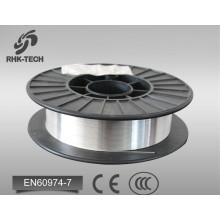 fio de soldadura de mig 0.8mm fio de soldadura de alumínio ER4043