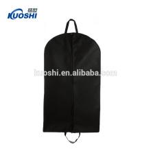 ml xl taille personnalisée non tissé costume vêtement sac avec fermeture à glissière