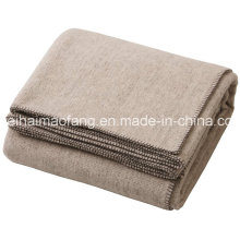 Woven Pure Virgin New Wool Hotel Blanket