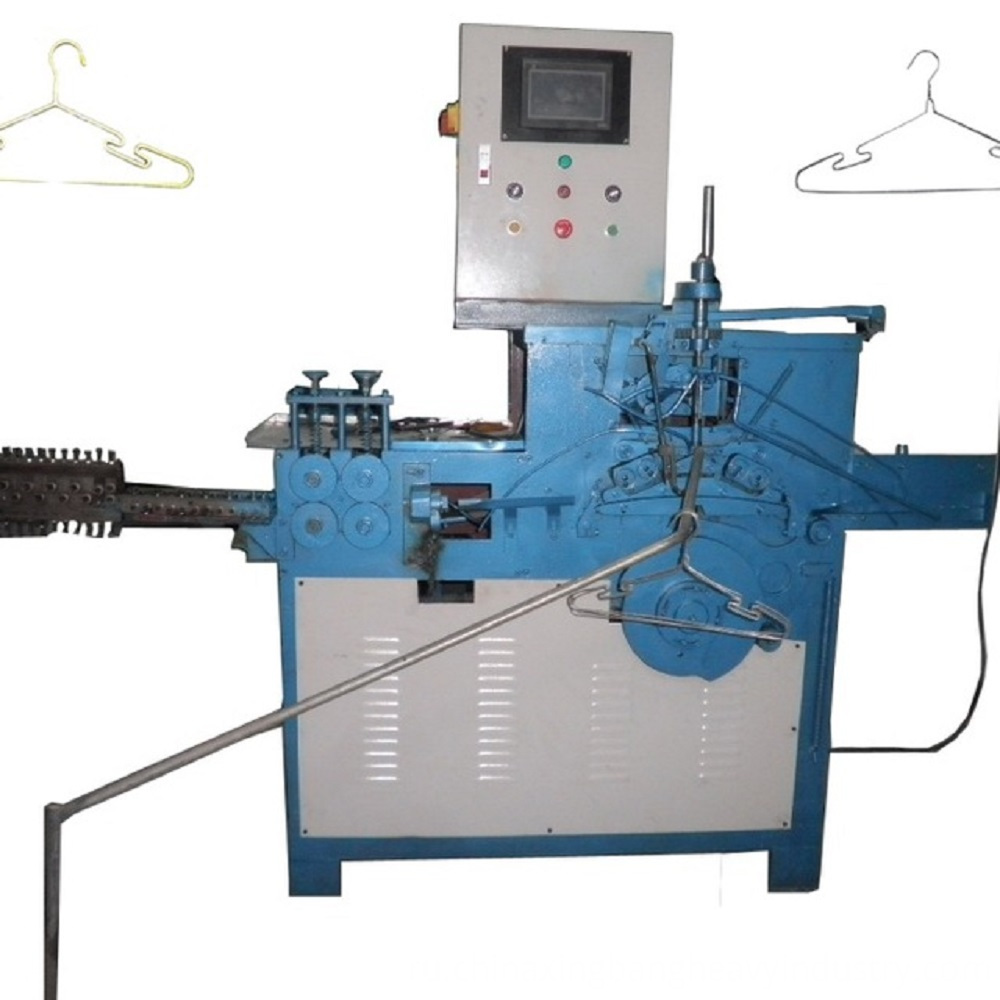 Fully-automatic-Aluminum-Wire-Coat-Hanger-Making
