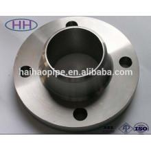 Fabricant de la Chine, Groupe Haihao, bride standard WN acier au carbone ANSI