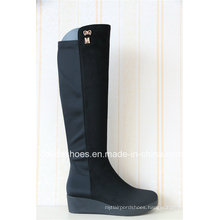 Elastic Casual Low Comfort Platform Women Rubber Boot