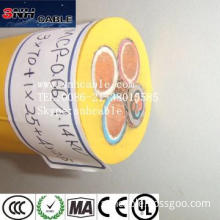 MCP 3*185sqmm+1*95sqmm Mining Cable