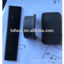 Special process Black color 95% Alumina Al2O3 ceramic high gloss black&satin black