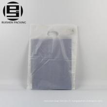 Sac à provisions en plastique recyclable