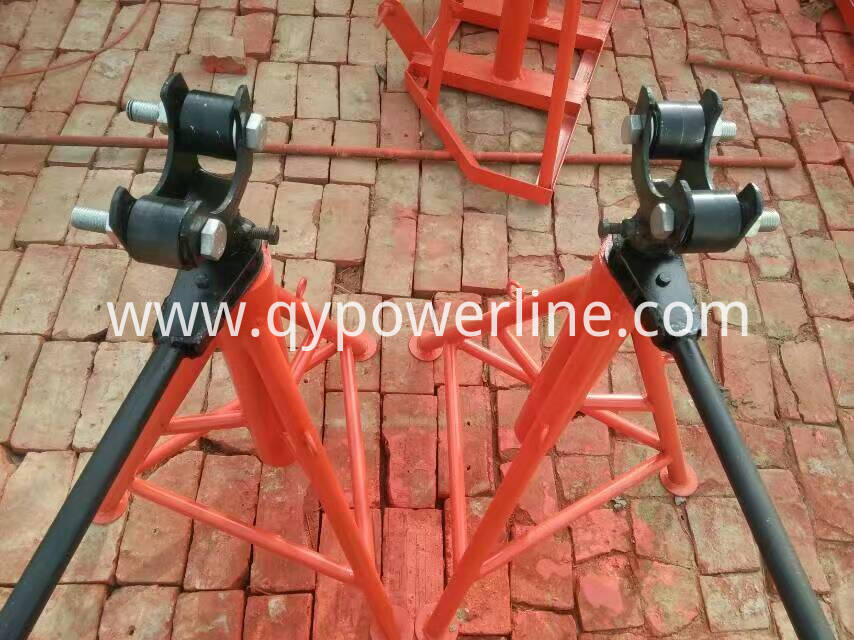 Pillar Type Cable Drum Stand