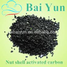 Les fabricants de charbon actif fournissent un filtre à charbon actif à coquille de noix pour éliminer les impuretés d'alcool