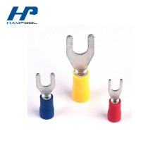 Connecteur de bornes de fourche électrique en PVC pré-isolé