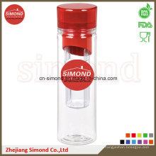 Botella de infusión Tritan de 600 ml con etiqueta privada (IB-A1)