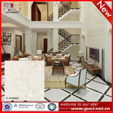baldosas de piso de mármol artificial alfa con baldosas de mármol blanco