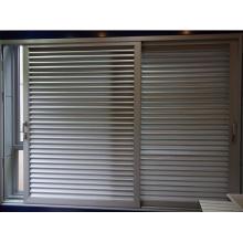 Fenêtre de volet coulissante en aluminium de haute qualité