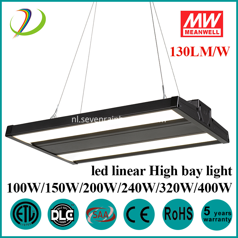 dimbare led lineaire high bay