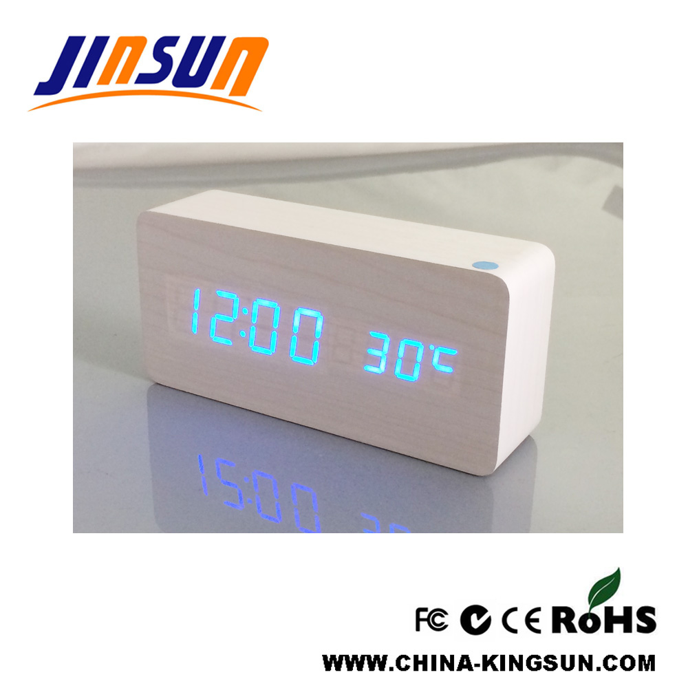 Blue Led Alarm Clock
