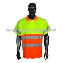 Camiseta reflexiva de alta seguridad