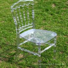 Cadeira de Napoleão em acrílico para casamento