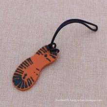Customized Shoe Shape Name Tags with Silicone Rope