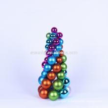 Venda por atacado decorar bolas de natal, pendurado na bola da árvore de natal