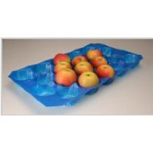 Standard-Lebensmittelsicherheitsklasse Thermogeformte Blisterverpackung Perforierter Apple-Verpackungsbehälter Hergestellt aus PP