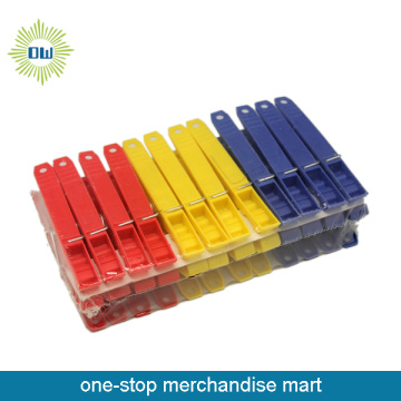 colorful plastic cloth peg