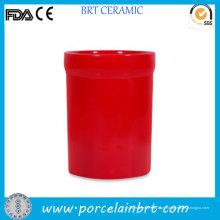Suporte de pauzinho de utensílio de coluna vermelho útil