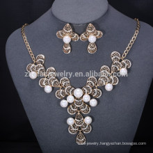 bulk heavy costume jewelry, 18k gold plated jewelry set