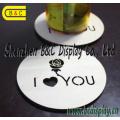 Fourni par l'usine Bar Coaster, tapis de tasse, tampon de bière, Caffee Pad avec Logo imprimé et oeuvre (B & C-G111)