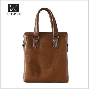 Low MOQ Custom Man Leather Laptop Briefcase Handbag Manufacturers China