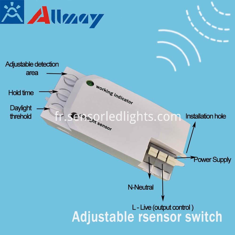 microwave motion detector