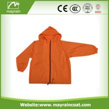 Ladies Fashion Long Rain Outdoor Jacket
