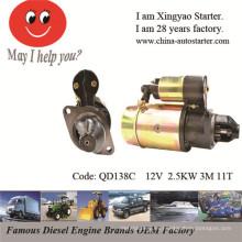 Mercruiser Partes del motor del barco arrancador eléctrico (QD138C)