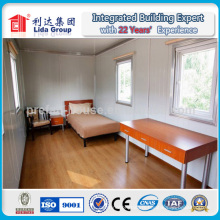Maisons préfabriquées bon marché de récipient faites en Chine