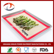 """16 1/2 """"X 11 5/8"""" Non-Stick Hitzebeständige wiederverwendbare Silikon-Backmatten"""