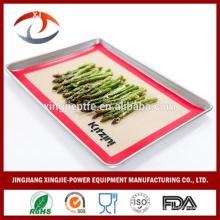 """16 1/2 """"X 11 5/8"""" Non adhérent Tapis de cuisson en silicone réutilisable résistant à la chaleur"""
