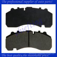 WVA29167 GDB5091 FCV1677B 0980102570 0980102920 0509290070 0980106450 0980106960 plaquette de frein de camion lourd de haute qualité