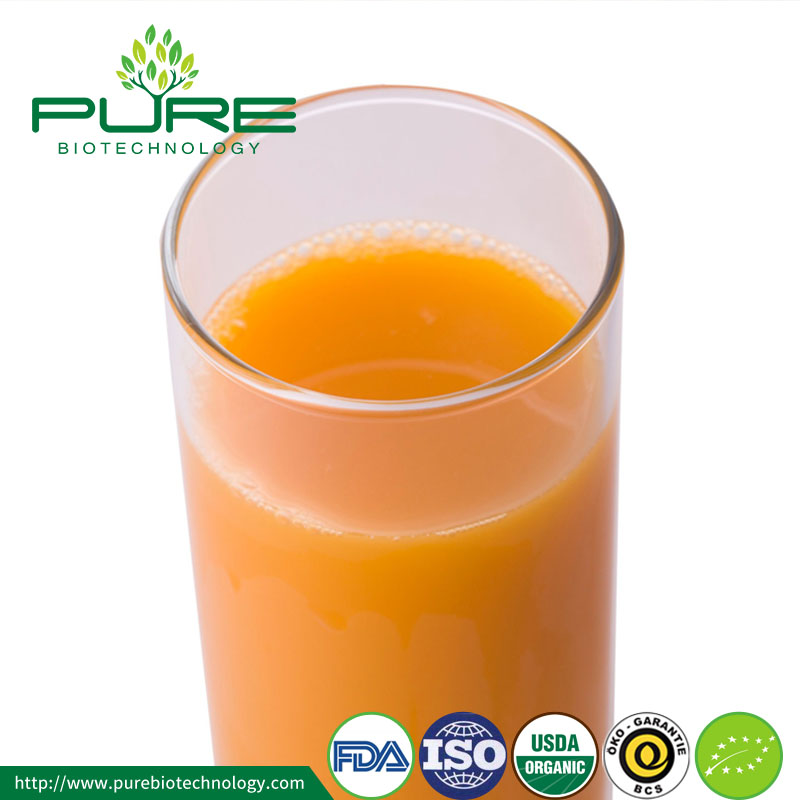 organic sea buckthorn juice puree