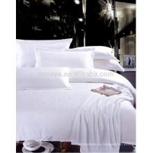 Jacquard Hotel Bedding Set - Funda de edredón, hoja cabida, hoja de cama, funda de almohada