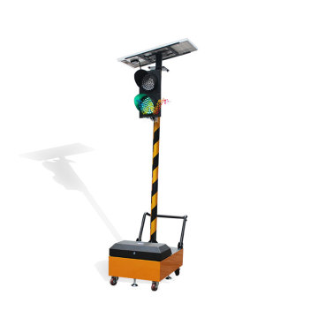 Remote Control Solar 200mm Portable Traffic Light