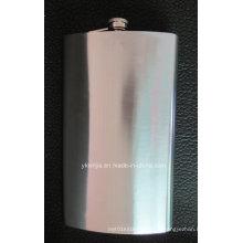 Large volume 64oz Hip Flask Stainless Steel 1.9L