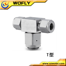 high temperature high pressure natural gas tee filter