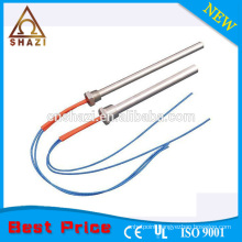 industrial cartridge heater with threads fitting