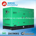 Grupo de gerador elétrico diesel silencioso super de 75kVA Weichai