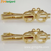 High reputation for Necktie Knots Custom Metal Men's Tie Clips For men export to Italy Exporter