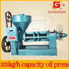 Aceite de la prensa de semilla de aceite que hace la máquina capacidad de Yzyx130 8ton
