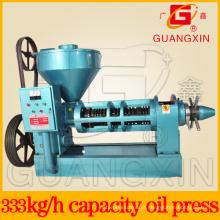 Óleo da imprensa da semente de óleo que faz a capacidade da máquina Yzyx130 8ton