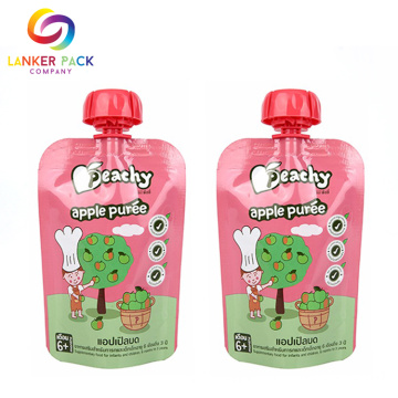 Reclosable Custom Baby Food Doypack Påse Med Spout