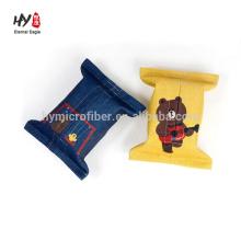 caja de pañuelos de lino personalizada de promoción colorida popular