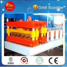 Control del PLC de buena calidad esmaltado azulejo que forma la máquina