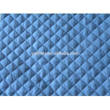 acolchado de diamante acolchado a tela para abrigo, compuestas telas bordadas, tela de forro de la capa
