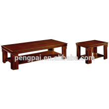 High quality simple wooden desk in meeting room/mahogany end table/solid wood tea table