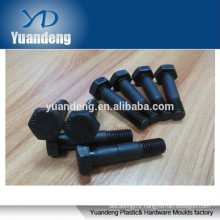 customized high black oxide hex bolt